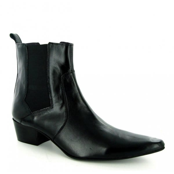 gucinari romeo mens cuban heel pointed winklepicker