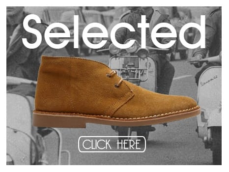 Selected Mens Suede Desert Boots