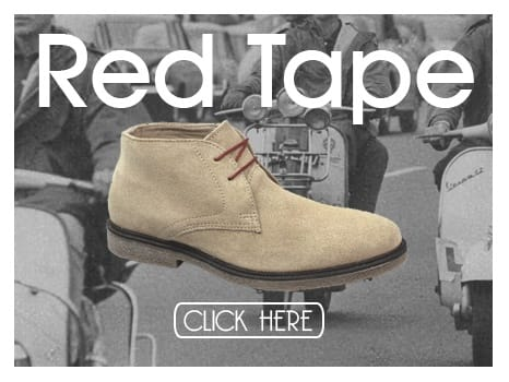 Red Tape Mens Suede Desert Boots
