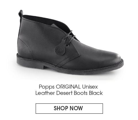 Black leather Popps