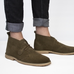 ORIGINAL Unisex Suede Desert Boots Dark Brown