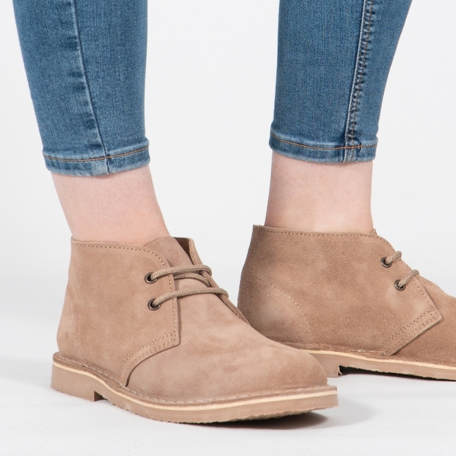 Suede Taupe Desert Boots|DesertBoots