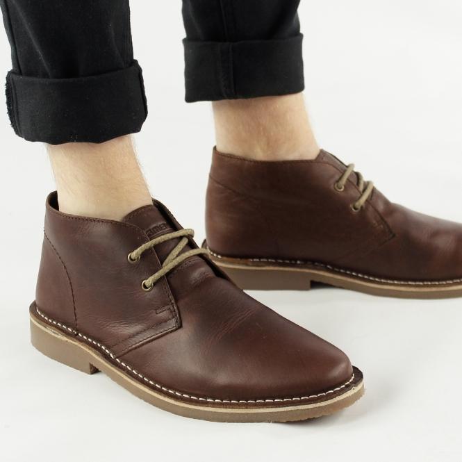Roamers MAYNARD Mens Brown Desert Boots