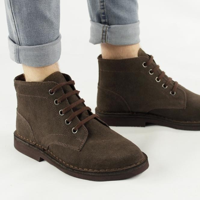 Roamers SERGEANT Mens Brown Desert Boots (M468DBS) Original ... deb0ab0d2