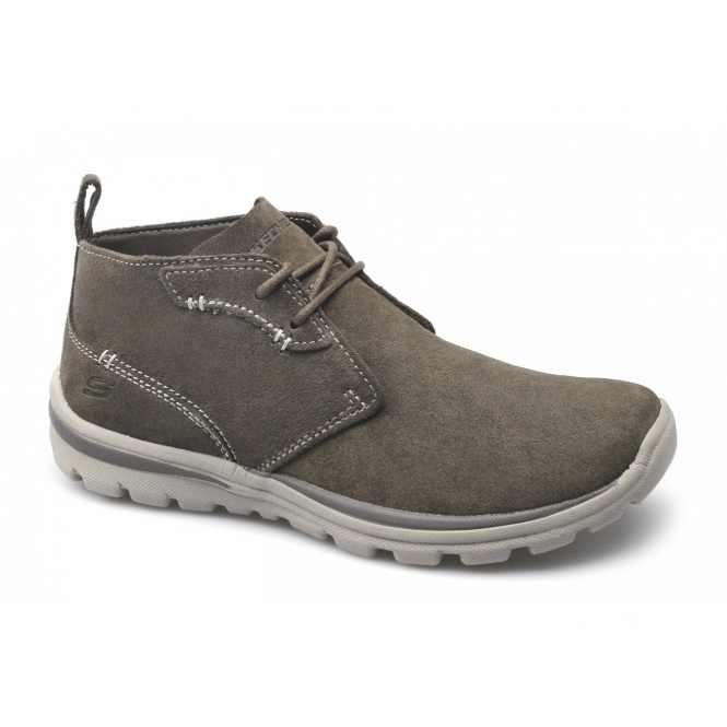 0a90017ea7a3 SUPERIOR UP WORD Mens Relaxed Fit Desert Boots Brown