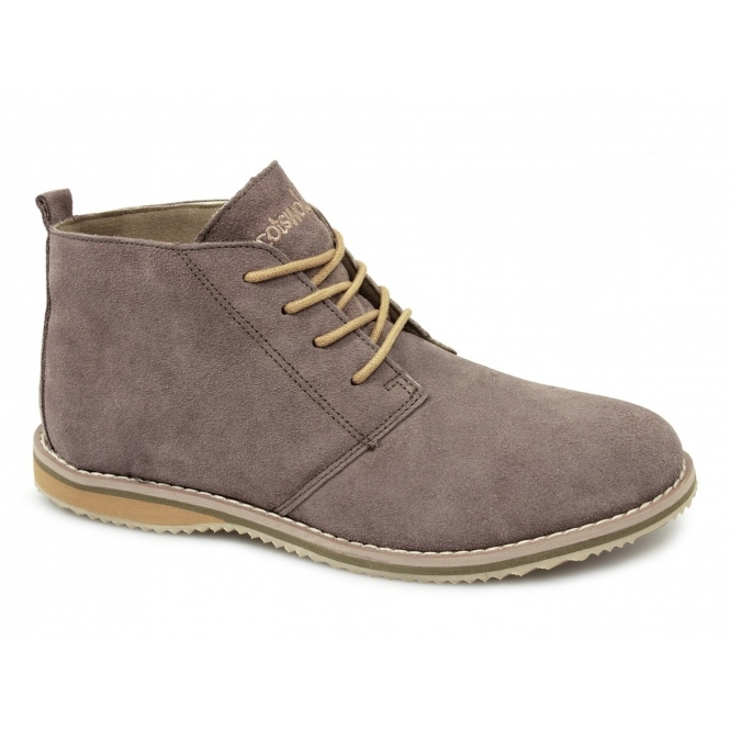 Cotswold SNOWHILL Unisex Ladies Mens Suede Comfy Work Casual Desert Boots Taupe
